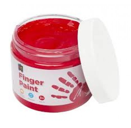 FINGER PAINT EC 250ML RED