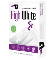 A4 victory copy paper 80gsm hi white ream