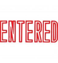 X-stamper 1021 Entered Red
