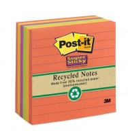 Notes Post-It 675-6SSNRP 98X98MM Nature Hues Asstd Pk 6