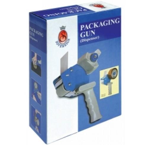 Tape dispenser sovereign packaging gun