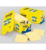 3M post- it Pop Up notes 76x76 cabinet pack yellow bx 18