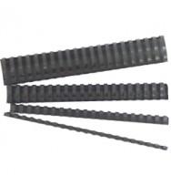 Binding combs gbc 6mm black pk100