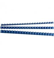 Binding combs gbc 6mm blue pk100