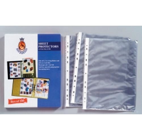 Sheet protectors A4 bx100 - Sovereign