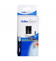 Pen artline bp smoove 1mm black bx 50