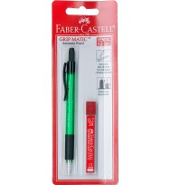 Pencil mechanical faber grip matic 1379 0.7mm + lead 2b h/sell