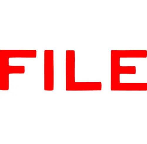 X-stamper 1051 file red