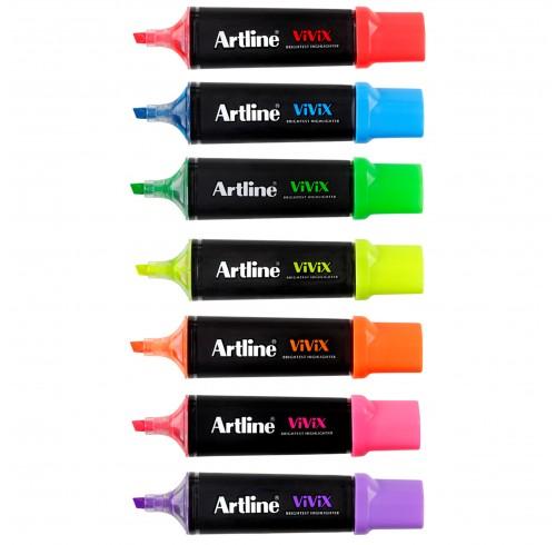 Highlighter Artline Vivix Assorted 10's