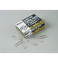 Paper clips 28mm small pk 100 - BOX OF 10