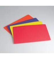 Manilla folder avery f/c red pk20