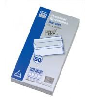 Envelope tudor 120x235 secret s/s pk50