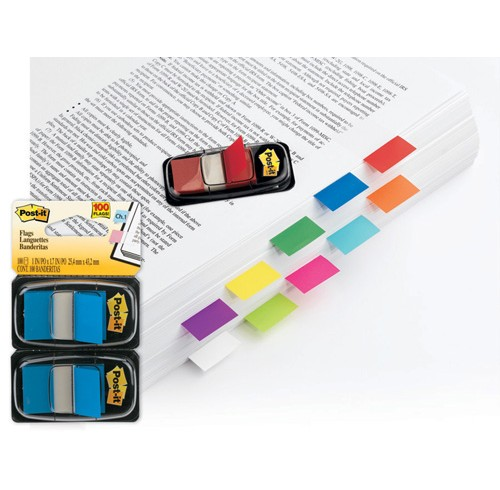 Post- it flags 680-yw2 yellow twin pack