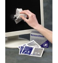 Computer screen-clene af duo wet/dry wipes pk20
