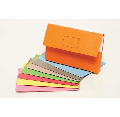 Document wallet marbig slimpick grey
