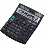 Calculator citizen ct-666 12-dgt replay (dual pwr)
