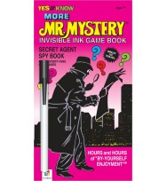 Book hinkler more mr mystery invisible ink games
