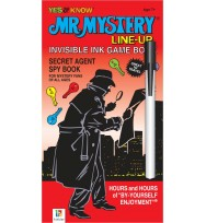 Book hinkler mr mystery line-up invisible ink