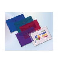 Document Wallet A4 Clear