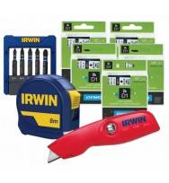 Dymo D1 Tape blk/white 12mm x 7mm Buy 5 get a free Irwin Tool Set