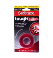 Tape Mounting Sellotape Tough Tape 19MMX1.5M Clear