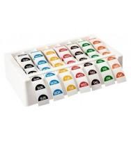 Day Label Dispenser Avery 273X70X159MM Inc Mon-Sun 24MM Labels White
