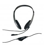 Multimedia Headset Verbatim With Microphone