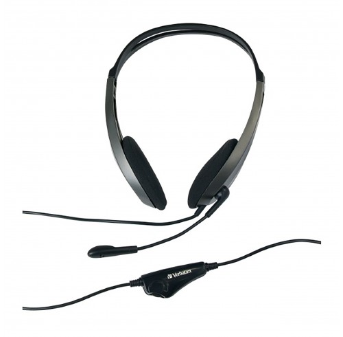 Multimedia Headset Verbatim With Microphone
