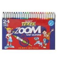 Texta Zoom Crayons Wallet 24
