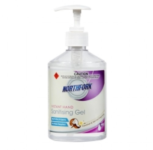 Hand Sanitising Gel 500ML coconut