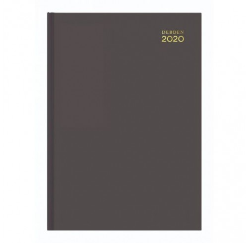 Diary 2020 Debden A4 Koyoto Recycled 3201 'Week to View 1 Hour' -Black