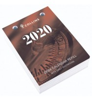 Desk Calendar Refill 2020 Collins 'Day to Page' Top Punch