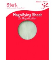 STAT MAGNIFYING SHEET 210X280M EA
