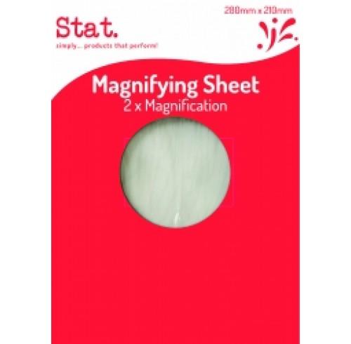 STAT MAGNIFYING SHEET 210X280M EA