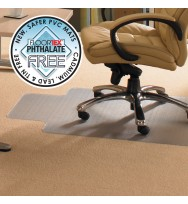 CHAIRMAT FLOORTEX PLUSH PILE CARPET 115X134CM KEYHOLE ADVANTAGEMAT