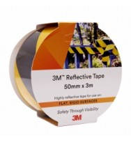Reflective Tape 3M 50xm x 3m  Yellow/Black