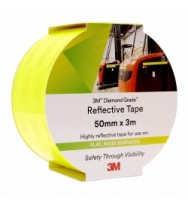 Reflective Tape 3m 50mm x 3m - Yellow/Green
