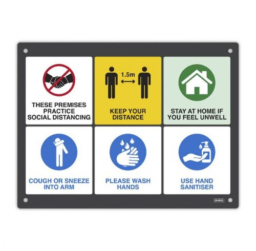 DURUS Wall Sign Key Messages 400x300m