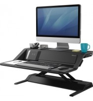 Sit Stand Workstation FELLOWES LOTUS DX - Black