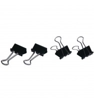 Foldback Clips Esselte 19mm Box 12