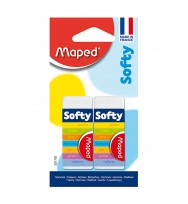 Eraser Maped Softy Pack 2