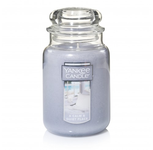 Candle Yankee Candle Large Jar -A Calm & Quiet Place
