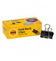 Foldback Clips Marbig 32mm Box 12