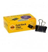 Foldback Clips Marbig 41mm Box 12
