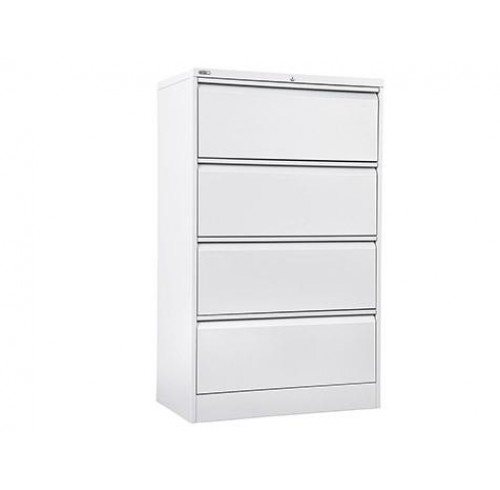 GO 4 Drawer Lateral Filing Cabinet - GLF4