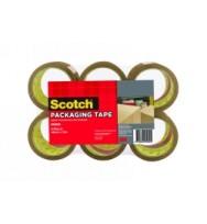 Tape packaging scotch #400 48mmx75m brown pk6