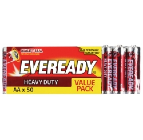 Eveready AA batteries 50 pack