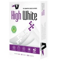 A4 Victory High White premier 80GSM Copy Paper box of 5 reams