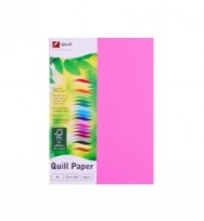 Quill Fluro pink A4 80GSM PK500