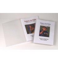 Display book marbig a4 flic file insert cover 20p